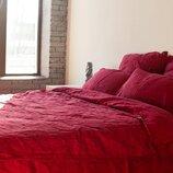 Элитное льняное постельное белье Бордо 511, лен