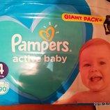 Pampers подгузники памперс актив беби