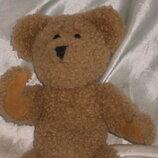 шикарная мягкая игрушка шарнирный мишенька Boyds Сша оригинал 24 см