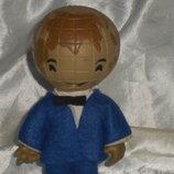шикарная редкая кукла Копытка Глобус Гдр оригинал 14 см