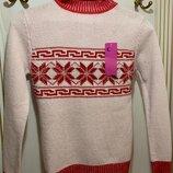 Новый теплый свитер под горло турция размер с-м