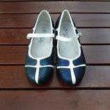 Туфельки сине-белые B&G - 31р.