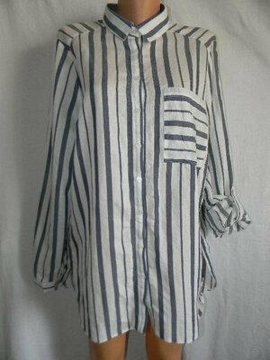 Блуза рубашка в полоску Atmosphere 18p