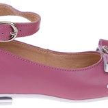 Туфли нарядные кожаные для девочки новые Тм Берегиня 26 27,28 30,31