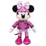 Disney плюшевая Минни Маус гонщица 24 см в розовом Minnie Mouse Plush Mickey and the Roadster Racers