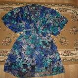 Пляжная туника платье Oasis р. 6 , 32