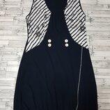 Вискозное платье Cocoon