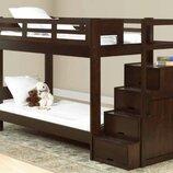 Акция Кровать Остин в тонировке с ящиками под кровать