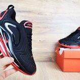 Кроссовки мужские Nike Air Max 720 black/red