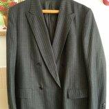 Пиджак жакет шерстяной новое состояние р 50-54