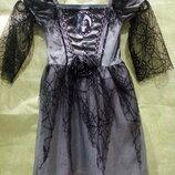 Платье Ведьмочки или Мертвой невесты на 3-5 лет