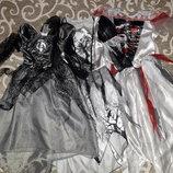 Прокат. Платья Призрака или Мертвой невесты . от 3 до 11 лет.