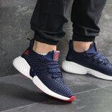 Кроссовки мужские Adidas Alphabounce Instinct dark blue