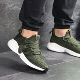 Кроссовки мужские Adidas Alphabounce Instinct dark green