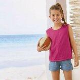 Стильная летняя майка на 10-12 лет пр-во Германия супер качество футболка топ маечка
