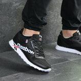 Мужские кроссовки Reebok черно- белые