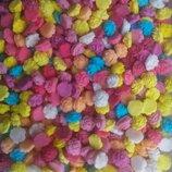 Сахарные розочки мелкие для украшения кондитерских изделий. размер на фото. Цена за 5 шт.- 1 грн.