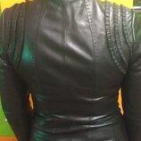 Женская Натуральная кожаная куртка. Очень Стильная.