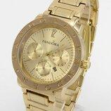 Наручные часы Pandora Пандора с тремя циферблатами золото