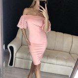 Платье 42,44 размеры 4 цвета