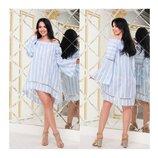 Платье женское мод. 5178 Батал Котон