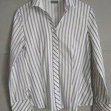 Актуальная женская рубашка. рубашка в полоску.