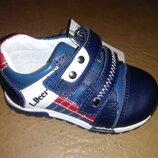 Кожаные кроссовки 21-26 р. B&G на мальчика, шкіряні, кросівки, кроссовки, биджи, би-джи, туфли