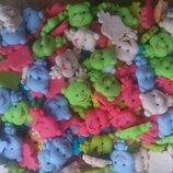 Сахарные медвежата для украшения кондитерских изделий. размер на фото. Цена за 3 шт.- 1 грн. Цвета