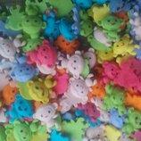 Сахарные обезьянки для украшения кондитерских изделий. размер на фото. Цена за 4 шт.- 1 грн. Цвета