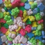 Сахарные мышки для украшения кондитерских изделий. размер на фото. Цена за 4 шт.- 1 грн. Цвета разн