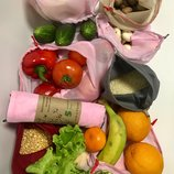 Эко мешочки для вещей и продуктов, еко торбинка, екоторбинка, хлопковый мешок