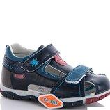Кожаные сандали для мальчика EeBb р. 26, 27, 28, 29, 30, 31