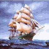 Картина по номерам. Brushme Бригантина в буйном море GX25149