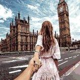 Картина по номерам. Brushme Следуй за мной Лондон GX22063
