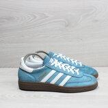Замшевые голубые кроссовки Adidas Special оригинал, размер 38