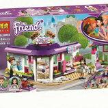 Конструктор Bela Friends 10856 Арт-кафе Эммы 384дет аналог Lego Friends 41336