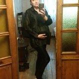 ш Рубашка удлиненная кофта платье одежда для беременной туника