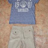 Котоновые шорты - бриджи Zara