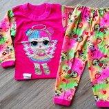 Яркая, красочная, лёгкая пижама ЛОЛ Новинка 2019