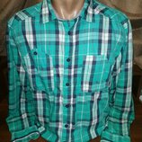 Хлопковая рубашка 48 размера