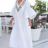 Нежное красивое платье «Королева» 42 - 44, 46 - 48