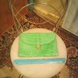 Сумка-Клатч кожаная брендовая Janette Piccadilly Italy
