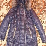 Зимняя куртка теплая пальто 50 р.