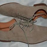 Туфли кожа Geox размер 38, туфлі шкіра