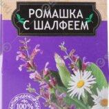 Фиточай «Белтея» ромашка с шалфеем, 20 пакетиков Страна производства Беларусь
