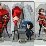 Набор коллекционных кукол супер семейка 2 суперсемейка дисней пискар лимитированный выпуск