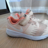 кросовки 19 см 29,5 рр оранжевие персик сетка Nike Найк оригинал