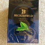 Чай чёрный «Beckerfield» крупнолистовой 100 г. Страна производства БЕЛАРУСЬ