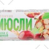 Батончик-Мюсли «Спартак» 35 г. Страна производства Беларусь
