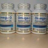Омега-3 California Gold Nutrition omega 3 рыбий жир